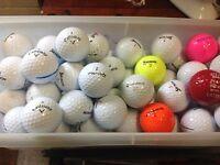 Golf balls ( in 50's )