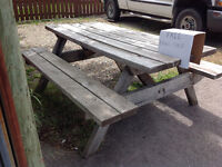 Free Picnic Table