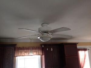 Ventilateur avec lumière