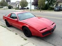 1982 Pontiac Trans Am Coupe (Appraised for $12,000.00)