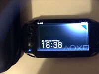 Ps vita with 8 games