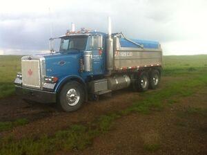 05 Peterbilt Gravel Truck Fresh Safety Trojan Box