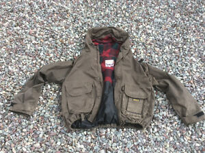 Fly fishing wader jacket