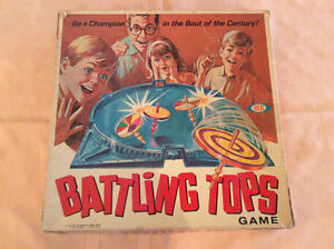 Battling Tops Game by Ideal