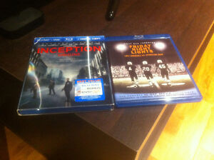 Blu Rays for Sale - Inception & Friday Night Lights