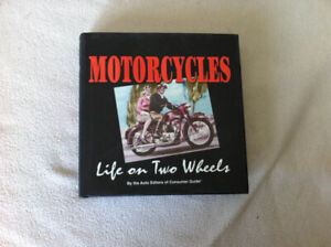 Motorcycles - Life on Two Wheels - Hard cover book