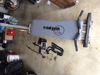 "Total Gym ""Elite"" plus Accessories"