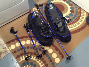 Mens and ladies snowshoes