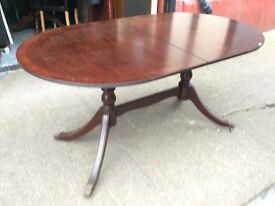 Regency style dining table / extends / Free Glasgow delivery