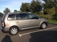 VW TOURAN 7 SEATER, 170 SE, SPORT TDI 2009, FULL LEATHER, DVD, XENON LIGHTS PREV..ONE OWNER!!