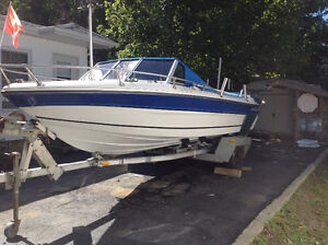 19ft Panther boat & trailer & down riggers