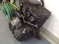 Suzuki gsxr 750 engine