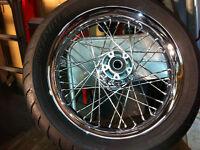 "16""x3""spoked wheel"