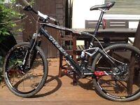Trek fuel 90 full suspension mountain bike