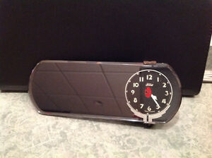 1930's FORD Rearview Mirror CLOCK