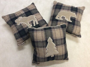 Woolrich Throw Cushions