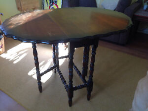 Antique Spool Table