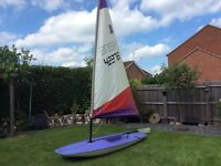 Topper sailing dinghy 42376
