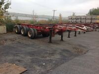20ft. container chassis