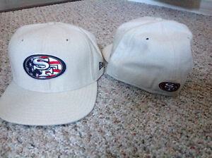 New Era San Fransisco 49's hat. Fitted, New with tags
