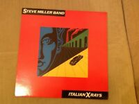Steve Miller Band Italian XRays vinyl record album