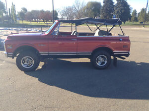 1972 K5 Blazer Soft and Hard Top Excellent Condition
