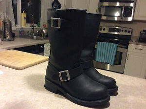Ladies motorcycle riding boots