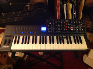Behringer Model D / Axiom 49 Mono Synth Package