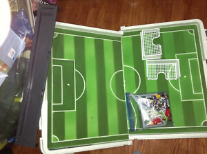 Playmboil soccer set for sale London Ontario image 1