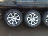 Tires and alloy wheels 16'