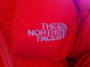 NORTH FACE down-filled coat-women's