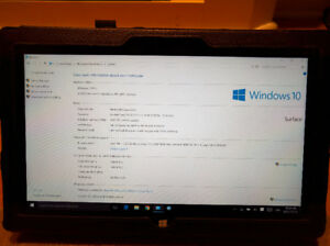 Microsoft surface pro trade for Ipad or Android Tablet