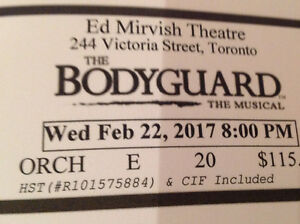 Bodyguard Ticket