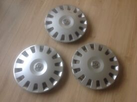 CORSA Car wheel trims X 3