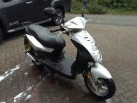 Sym Symply 50cc Scooter 08/58 plate MOT March 2018