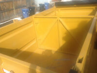 "MINI BOBCAT SERVICE ( 36"") & 12' SPLIT LOAD DUMP TRAILER"