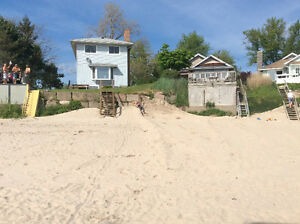 Lakefront Cottage with Sandy Beach in Long Beach, Ontario,Canada