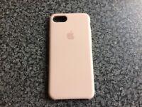 "iPhone 7 Silicone Case ""Rose"" coloured"