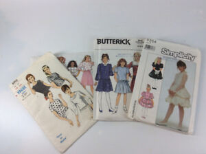 Vintage Vogue, Simplicity and Butterick Sewing Patterns