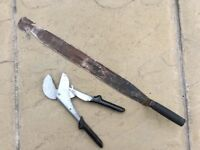 Slate ripper & cutter