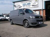 2013 13 VW TRANSPORTER T5 IN STUNNING PURE GREY WITH FULL SPORTLINE PACK *LOOK*