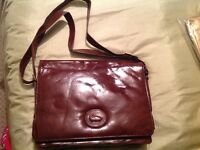 Handbag - Brown Real Genuine Leather
