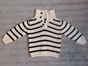 Babygap striped sweater 3t