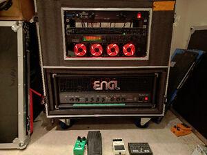 Engl fireball 100, flight case, rack mount multi fx, cabinets!
