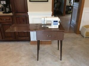 Brother sewing machine with free arm
