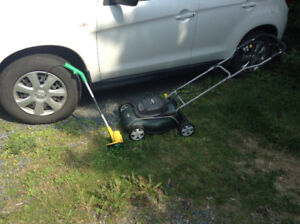 Lawnmower & weed trimmer