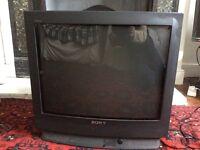 A Sony Trinitron Television