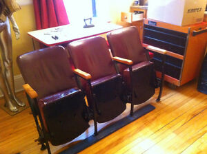1930's/40's Theatre chairs