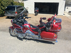 2004 Honda Goldwing 1800cc touring motorcycle