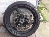 Front Suzuki Bandit Front Wheel & tyre